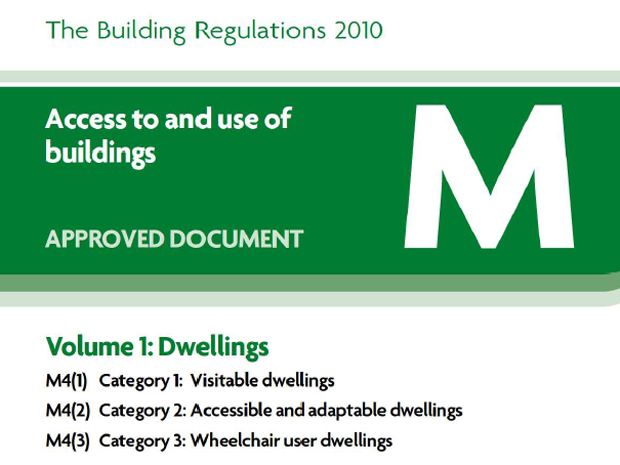 Part M of Building Regulations